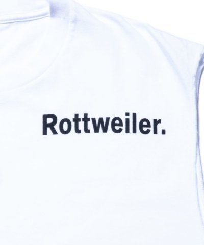 画像3: ROTTWEILER/RW CUT OFF T  WHITE