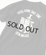 GYMMASTER/GOOD THING T  BLACK