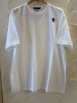 BELIVE/LIMITED LINE PATCH STAR BLACK  WHITE