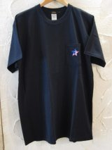 BELIVE/LIMITED LINE PATCH STAR NAVY PKT  BLACK