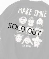 GYMMASTER/MAKE SMILE T  BLACK