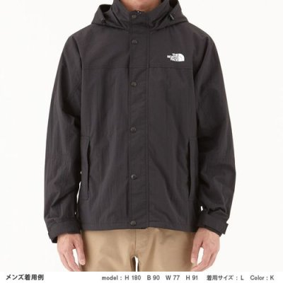 画像2: THE NORTH FACE/HYDRENA WIND JACKET BLACK