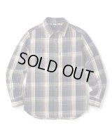 FTC/HEAVY PLAID NELL SHIRT  NAVY