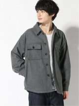 CORISCO/MELTON CPO JKT  CHARCOAL