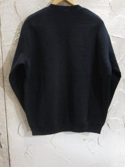 画像2: BELIVE/LEFT CHEST PATCH SWEAT MAKER  BLACK