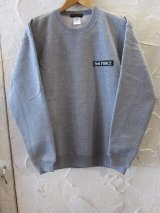 Feel FORCE/CREW SWEAT BANNER  GRAY
