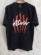 TONY ALVA/xFeelFORCE SCRATCH LOGO T  BLACK
