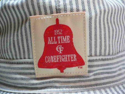 他の写真3: (SALE 30%OFF)COREFIGHTER/HICKORY STRIPE ARMY CAP  WHTxBLACK