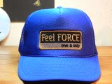 Feel FORCE/ONE&ONLY MESH CAP ROYAL