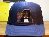 BELIVE/MICHAEL JACKSON MESH CAP OFF THE WALL  NAVY