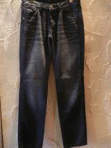 ☆SALE 67%OFF☆ BREATH/DAMAGE DENIM  PANTS  BLACK