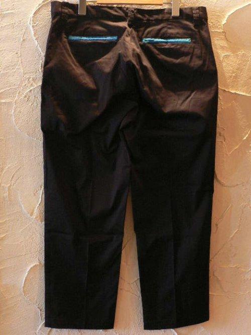 他の写真1: (SALE 40%OFF)VELVET GLOVE/PIPING CROPPED PANTS  BLACK