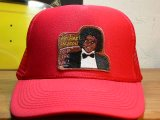 BELIVE/MICHAEL JACKSON MESH CAP OFF THE WALL  RED