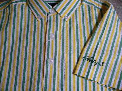 他の写真2: (40%OFF)FAT/SHIR  YELLOWxGREEN