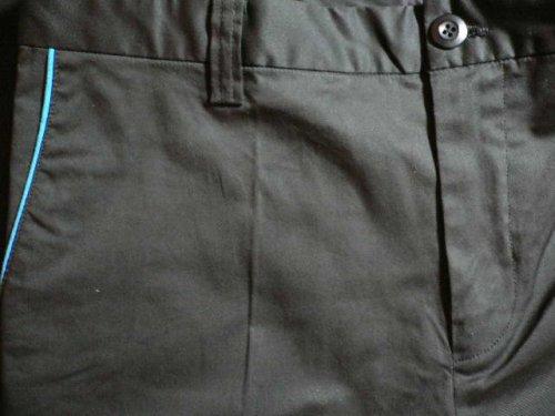 他の写真2: (SALE 40%OFF)VELVET GLOVE/PIPING CROPPED PANTS  BLACK
