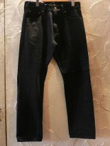 SOFTMACHINE/LIFE STRAIGHT  BLACK DENIM