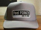 Feel FORCE/ONE&ONLY MESH CAP  GRAYxWHITE